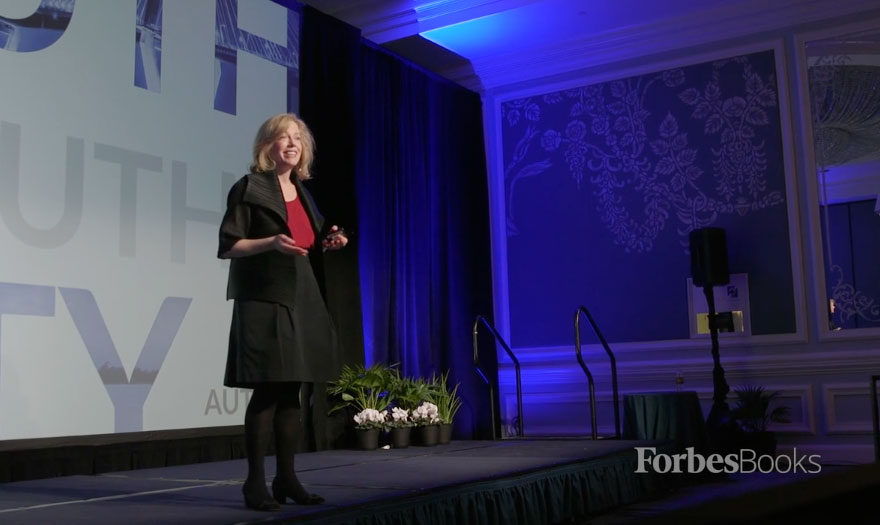 Beth Speaks At The Authority Insider's Forum